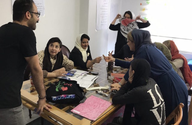 Alleyn's School students reach across the divide to support disadvantaged girls in Tehran