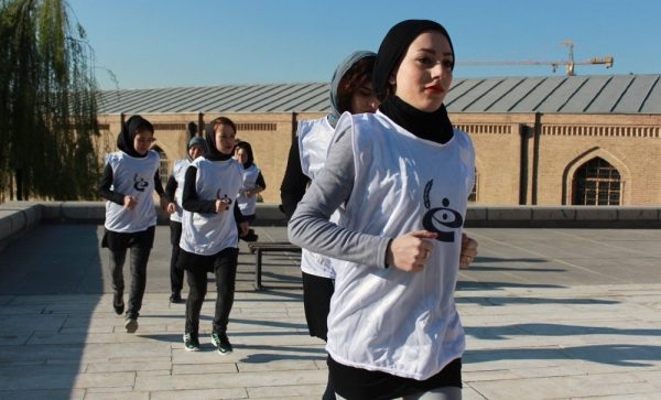 Young Women From OMID Take Part In Historical Race In Tehran