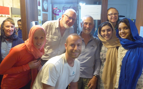 Generous Donation Made By Australian Cyclists soon after a visit to OMID
