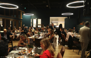people dinning at Evening of Hope