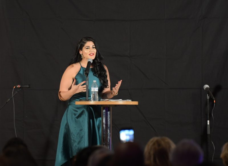 speaker at the gala