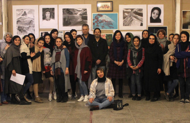 Exhibition Of Young Women's Art at Omid
