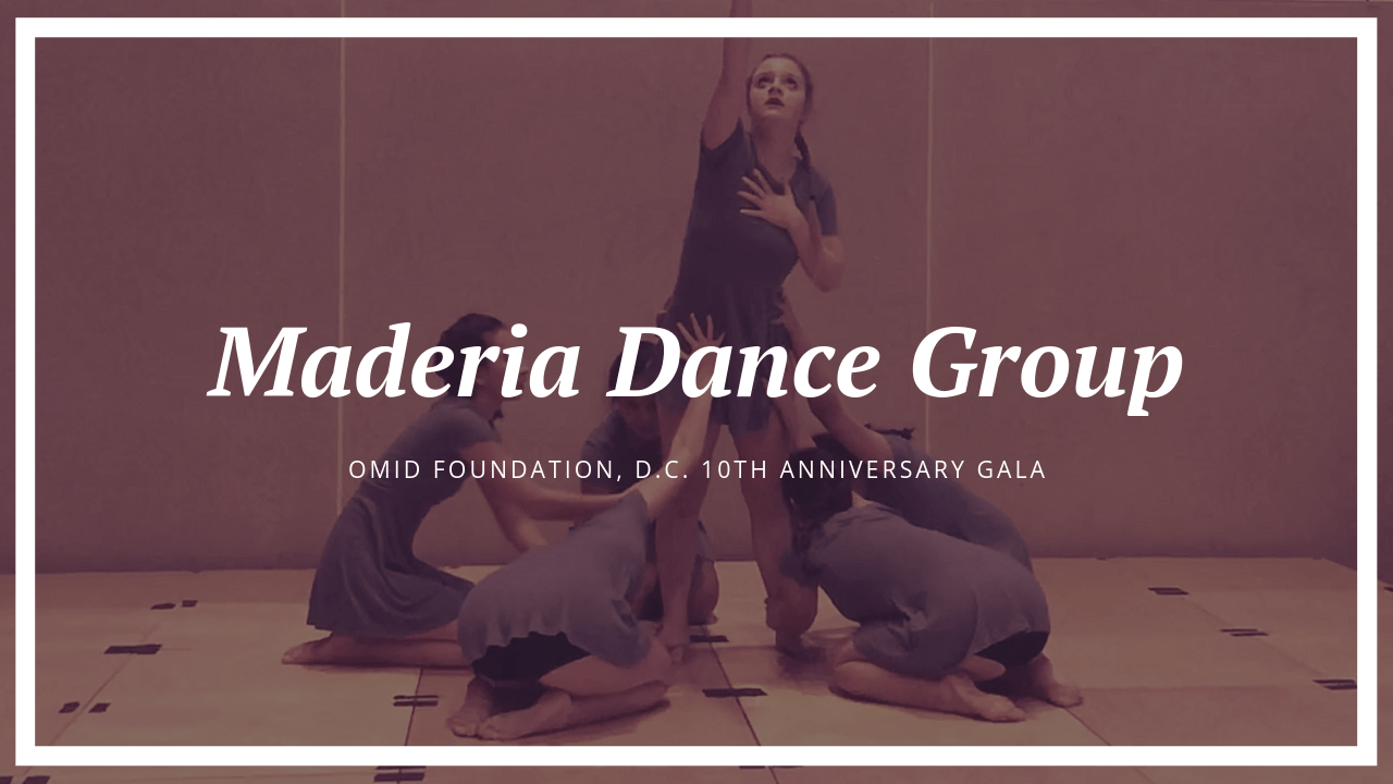 Madeira Dance Select Group at Washington DC, 10th Anniversary Gala: Perrin McHugh Interviews Sophie Fouladi